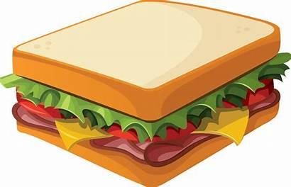 Sandwich Drawing Tasty