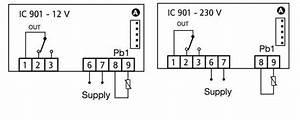 China Italy Eliwell Temperature Controller  Icplus 902  Idplus 974