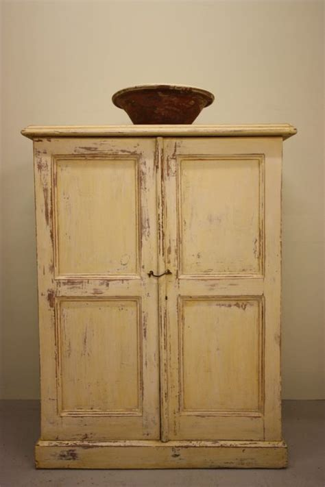 Pine Cupboard Door by Antique Painted Pine Two Door Cupboard Antiques Atlas