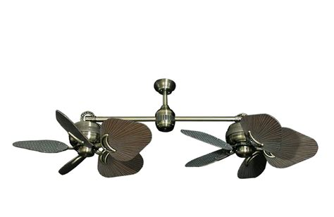 dual outdoor ceiling fan dual outdoor ceiling fans lighting and ceiling fans