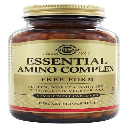 solgar essential amino acid complex free form 90