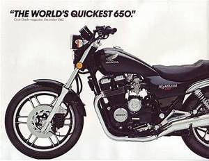 1982 Honda Nighthawk 650 Specs