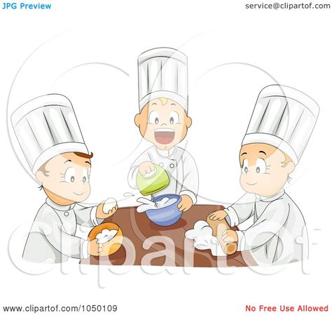Royalty-Free (RF) Clip Art Illustration of a Group Of Kids ...