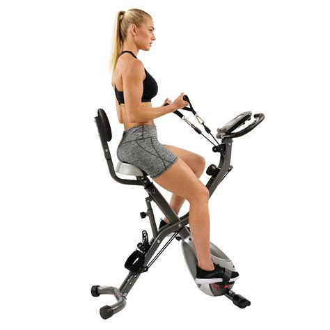 Sunny Health & Fitness Foldable Magnetic Exercise Total ...