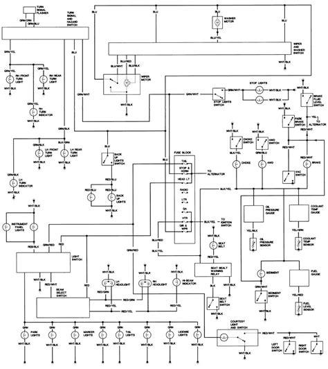 toyota landcruiser wiring diagrams