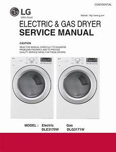 Lg Dle3170w Dleg3171w Dryer Service Manual And Repair