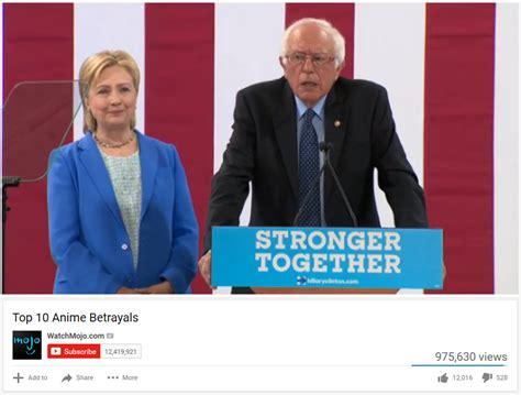 Top 10 Anime Betrayals Meme Template by Top 10 Anime Betrayals Bernie Sanders Your Meme