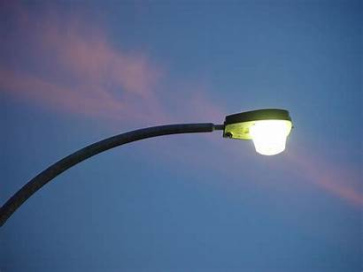 Street Sunset Lamp Lamps Pink Lights Streetlight