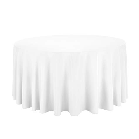 round white table cloth white round table cloth cover 120 inch ebay
