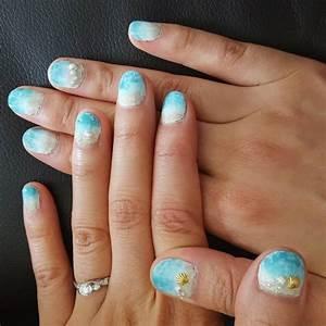 21+ Sea Shell Nail Art Designs, Ideas   Design Trends ...