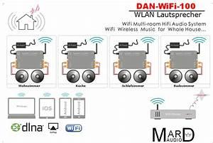 Einbau Lautsprecher Bluetooth : dan wifi 100 wlan lautsprecher einbau set lautsprecher ~ Orissabook.com Haus und Dekorationen