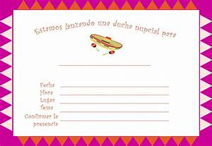 bridal shower invitations bridal shower invitation With free printable wedding invitations in spanish