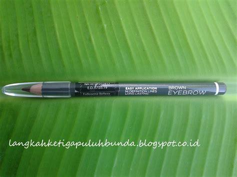 Harga Eyeliner Pencil Mineral Botanica langkah ketiga puluh review mineral botanica eyebrow pencil