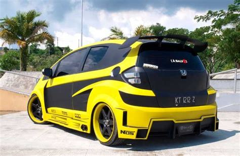 gambar foto modifikasi honda jazz   modifikasi