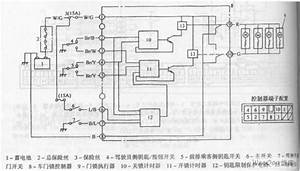 Chang Antelope Car Central Locking System Circuit Diagram