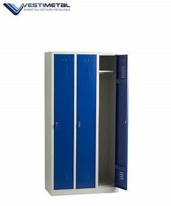 Armoire Vestiaire Metal : vestiaire armoire metallique casier vestiaires m talliques ~ Edinachiropracticcenter.com Idées de Décoration
