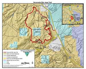 moab jeep trails map ebird hotspots az sevenmile rim