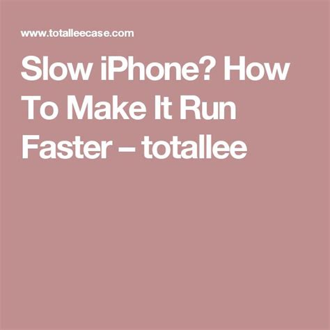 how to make my iphone faster 705 best images about iphone computer tips on