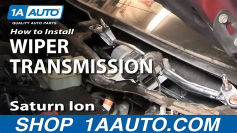 repair windshield wipe control 2003 saturn ion instrument cluster how to replace windshield wiper transmission 03 07 saturn ion youtube