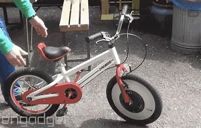 Training Wheels Bike Gyroscope Itself Riding Balance