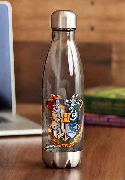 Potter Harry Bottle Water Plastic Curved Crests