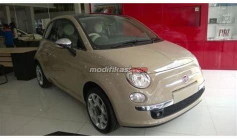 Modifikasi Fiat 500 by Jual Fiat 500 Thn 2014 Pop Sport Lounge Cabriolet