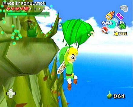 legend  zelda  wind waker usa nintendo gamecube
