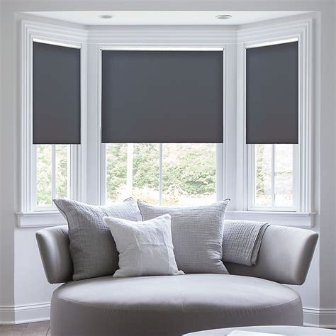in window blinds deluxe room darkening fabric roller shades blindster