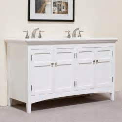 marble top white 60 inch double sink vanity contemporary