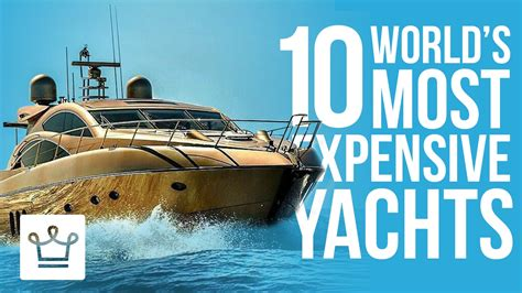 Boats World by Top 10 Most Expensive Yachts In The World Alux