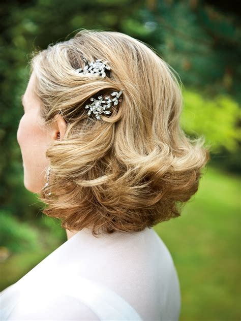 beautiful wedding hairstyle ideas  short hair
