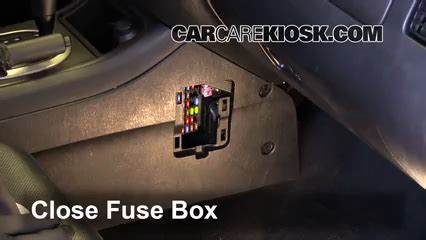 interior fuse box location   ford escape