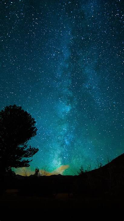 Sky Night Dark Iphone Nature Aurora Space