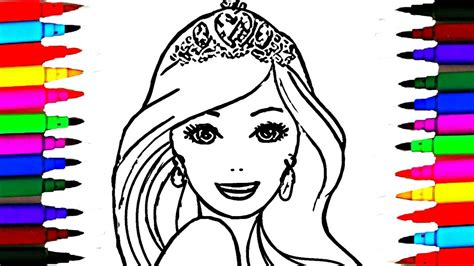 Barbie Princess Drawing At Getdrawings.com