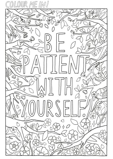 care coloring page quote coloring pages art therapy activities printable art therapy