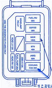 Ford Escort Zx2 2004 Mini Fuse Box  Block Circuit Breaker Diagram  U00bb Carfusebox