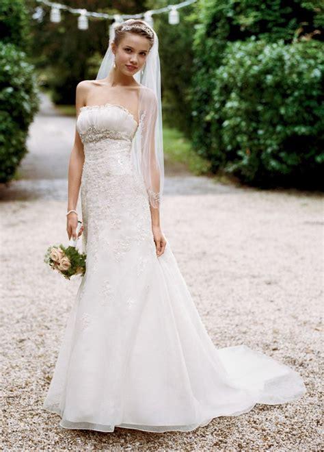 davids bridal wg size  wedding dress oncewedcom