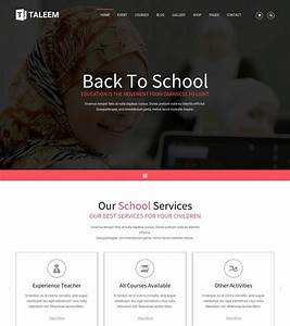 35 Best Education Responsive HTML Templates For