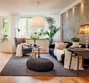 Große Couch In Kleinem Raum : kleines wohnzimmer einrichten eine gro e herausforderung ~ Lizthompson.info Haus und Dekorationen