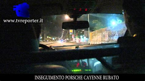 Volante 113 Inseguimento Volante 113 Inseguimento Porsche Cayenne Rubato