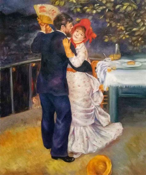 Renoir Dance In The Country Oil Painting On Canvas