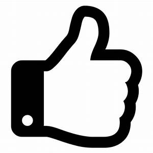 File:Thumbs up font awesome.svg - Wikimedia Commons