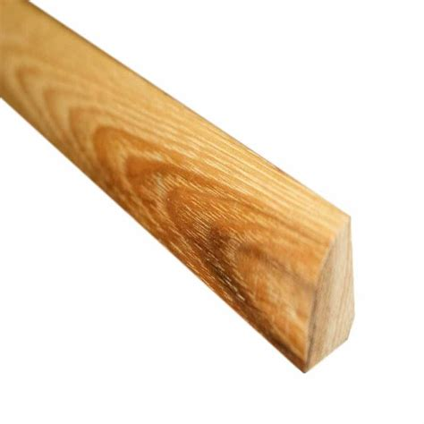 hardwood quarter millstead southern pecan 3 4 in thick x 3 4 in wide x 78 in length hardwood quarter round