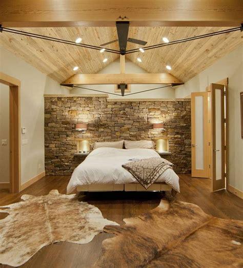 chambre avec mur en mur de pour une déco texturée dans la chambre