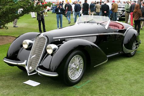 1938 Alfa Romeo 8c 2900b Corto Touring Spider