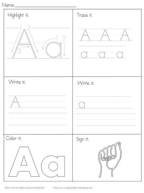 25 kindergarten handwriting ideas on
