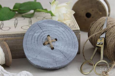 deko knoepfe aus baumscheiben basteln handmade kultur