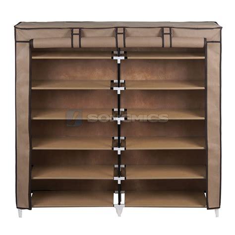 shoe rack ebay songmics shoe rack shoes cabinet stand standing storage