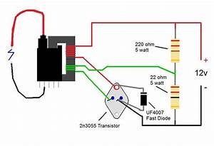 2n3055 Flyback Transformer Driver For Beginners  10 Steps