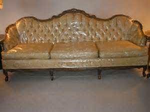 600 vintage provincial sofa and chair for sale in